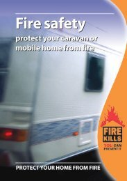 Download the Fire Kills PDF File for caravans and mobile homes