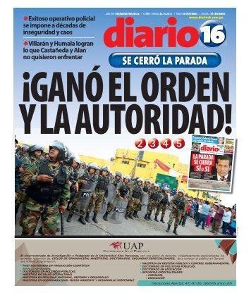 SE CERRÓ LA PARADA - Diario 16