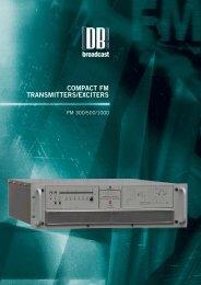 Technical Brochure - DB Broadcast