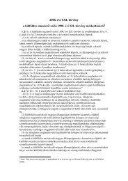 2006. évi XXI. törvény a külföldre utazásról ... - EUDO Citizenship