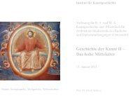 Giotto Arenakapelle - KIT - IKB - Fachgebiet Kunstgeschichte