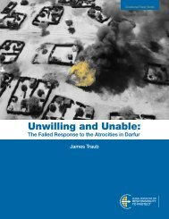 Unwilling and Unable: - International Coalition for the Responsibility ...