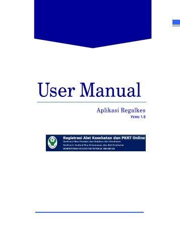 Download manual Book - Direktorat Jenderal Bina Kefarmasian dan ...