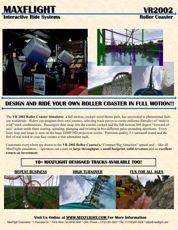 VR2002 New Brochure - MaxFlight Corporation