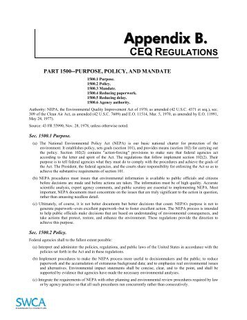 CEQ REGULATIONS PDF DOWNLOAD