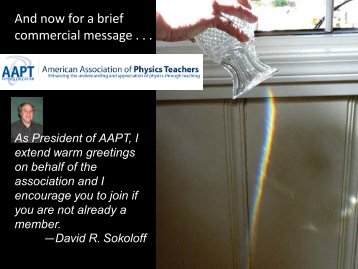 AAPT Section PowerPoint Presentation - American Association of ...