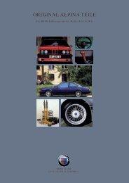 original alpina teile - BMW Alpina