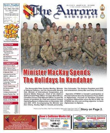 Jan 4 2011 - The Aurora Newspaper