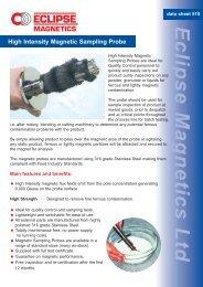 Sampling probe - Eclipse Magnetics