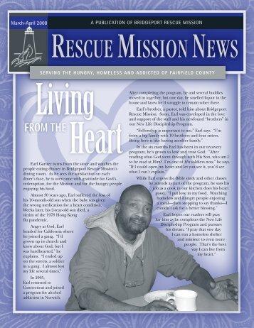 March / April 2008 - Bridgeport Rescue Mission