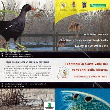 Prog convegno VRE 2012_def.pdf - Ambiente - Regione Emilia ...