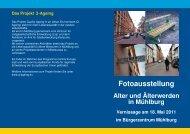 Flyer Einladung Vernissage für Druck - Zentrum für ...