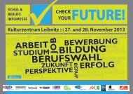 Flyer - Check Your Future!