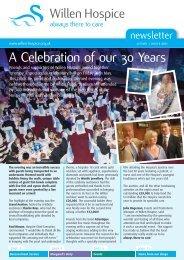 Autumn/Winter 2011 newsletter - Willen Hospice