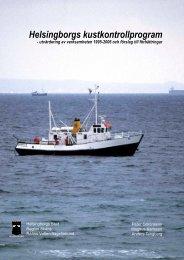 Helsingborgs kustkontrollprogram - utvärdering av verksamheten ...