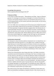 Daniel Kurz, Historiker, Fachautor für Architektur, Stadtentwicklung ...