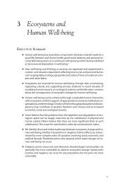 Ecosystems and Human Well-being: A Framework for ... - UNEP