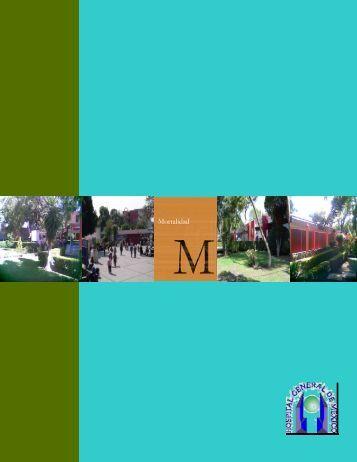 Boletín Mortalidad 2001 - Hospital General de México