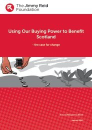 Using Our Buying Power to Benefit Scotland - Jim Cuthbert and ...