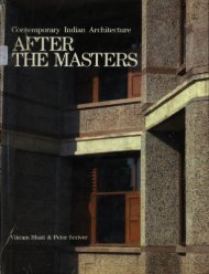 Contemporary Indian Architecture: After the Masters