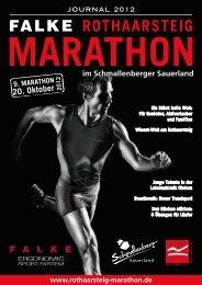 SIEGER 2011 - Rothaarsteig Marathon
