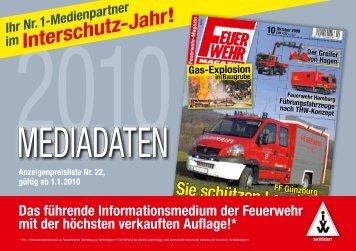 (Heft) 2010 - Feuerwehr-Magazin