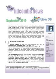 September 2010 – Lidcombe News Edition 38th - Montreal Fluency