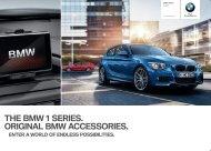 THE BMW  SERIES. ORIGINAL BMW ACCESSORIES. - BMW Asia