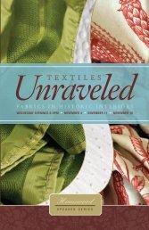 Unraveled T E X T I L E S