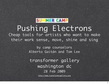 Keynote presentation for Pushing Electrons ... - Transformer