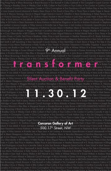Auction artwork catalog PDF - Transformer
