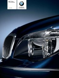 The Ultimate Driving Machine BMW 7 Series Price and Options July ...