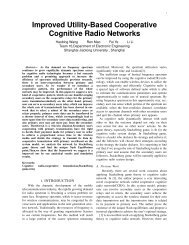 Improved Utility-Based Cooperative Cognitive Radio Networks