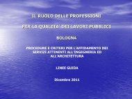 07 - Ordine degli Ingegneri della Provincia di Bologna