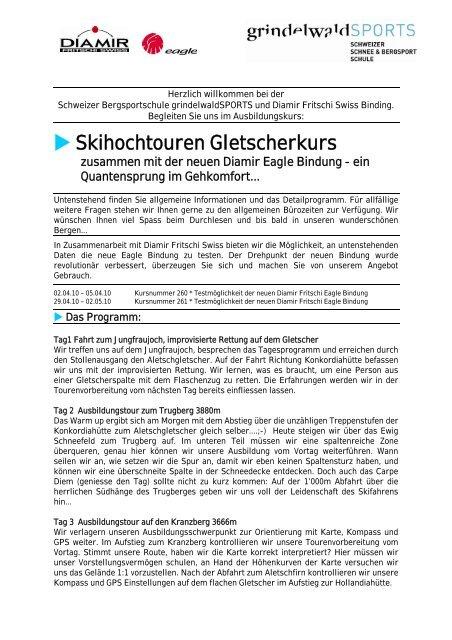 Skihochtouren Gletscherkurs - Diamir
