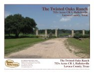 The Twisted Oaks Ranch - Haynes Realty