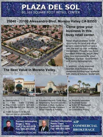 AIP Brochure Plaza Del Sol front.sdr - City of Moreno Valley