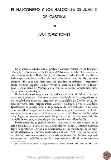 El halconero y los halcones de Juan II de Castilla