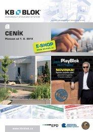 Ceník 2012 doplnky - KB - BLOK systém, sro