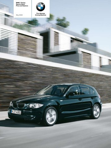 BMW 1 Series Sports Hatch Price And Options