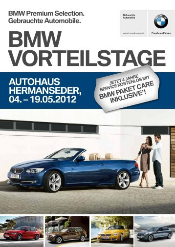 19.05.2012 BMW Premium Selection. Gebrauchte Automobile.