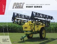 9500 Trailer sprayer - Farm Depot