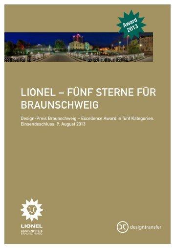 LIONEL – FÜNF STERNE FÜR BRAUNSCHWEIG
