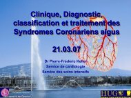 Clinique, Diagnostic, classification et traitement des Syndromes ...