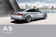 Download A5 Sportback brochure - Audi Middle East > Home