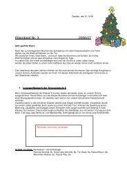 Elternbrief Nr. 3 2006/07 - Hermann-Gmeiner-Schule