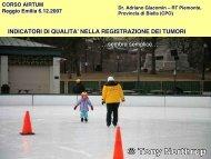 Gli indicatori di qualità nei Registri Tumori - Associazione Italiana ...