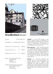 Grundbuchamt Flims Dorf - Fontana und Partner