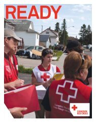 Canadian Red Cross Annual Report 2011–2012