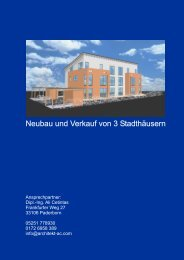 Expose zum Download - Architekt Ali Cetintas